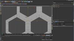 Sub-D Modeling in C4D - Part 15 - Honeycomb