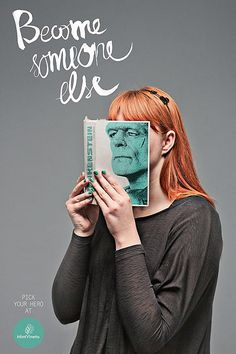 Very cool campaign for Mint Vinetu Bookstore by Love Agency, an advertising firm from Lithuania.