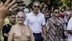 """Kunjungan Obama ke Pulau Dewata Berikan Citra Aman untuk Bali  KONFRONTASI - Liburan mantan Presiden AS Barack Obama ke Bali tak hanya memberikan promosi wisata gratis. Tapi juga memberikan citra yang aman bagi Pulau Dewata.  Hal itu disampaikan oleh Menteri Pariwisata Arief Yahya. Dirinya bersyukur atas kedatangan liburan Obama bersama keluarga ke Bali sejak Jumat (23/6) kemarin. Obama diketahui jalan-jalan ke Jatiluwih hingga main rafting di Sungai Ayung.  """"Kehadiran Pak Obama mengukuhkan…"""