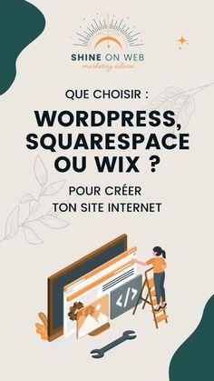 Marketing Tools, Internet Marketing, Digital Marketing, Wordpress, Creation Site, Web Design, Le Web, Small Business Marketing, Seo