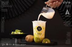 黑研舍 chinese style Of bubble milk tea Bubble Tea Menu, Bubble Tea Shop, Bubble Milk Tea, Cafe Menu Design, Milk Tea Recipes, Pearl Tea, Matcha Drink, Coconut Health Benefits, Cafe Food