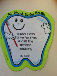 Celebrate National Children's Dental Health Month this February with the #ADA with our fun dental health crafts!
