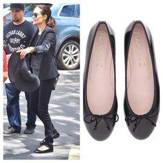 Angelina Jolie vue en #PrettyBallerinas à Los Angeles! #classique #noir #prettyballerinas