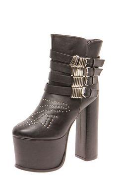 Caroline Super High Stud Trim Platform Boots £20 >> http://www.boohoo.com/restofworld/footwear/boots/icat/boots/boots/caroline-super-high-stud-trim-platform-boots/invt/azz53148