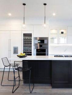 Kitchen Wall Art, Kitchen Reno, Kitchen Layout, New Kitchen, Kitchen Dining, Kitchen Ideas, Interior Design Kitchen, Apartment Living, Home Kitchens