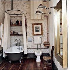 Необычный подход к дизайну ванной