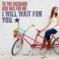 Remember this! When you wait on the Lord and don't allow the pressures of.this world to determine your actions, God's plan for your life will always shine through brighter than anything else! Whether you're waiting on a future husband, a job, an acceptance letter to your college of choice -- wait on the Lord!
