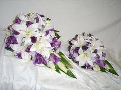 Bride's and Maid of Honor's Bouquets