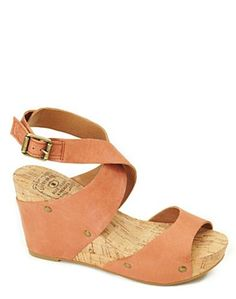 Lucky Brand wedges.