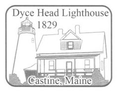 Dyce Head Lighthouse in Castine, Maine is part of the United States Lighthouse Society.  This society is a non-profit, educational organization created to help educate, inform and entertain those interested in United States lighthouses.  Visitors may purchase Lighthouse Passports from the USLS website and have them stamped with an official lighthouse stamp.   The Pentagoet Inn is the official lighthouse stamp location for Dyce Head .  Don't miss out on visiting this wonderful lighthouse