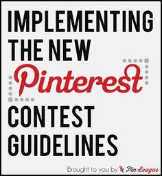 Pinterest Contest Guidelines
