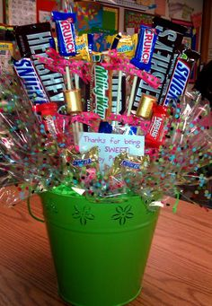 thank you ideas using candy bars - Bing images