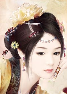 chinese art I thought this was a photograph! Beautiful