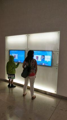 Interactive Wall Display