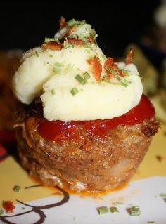 sweet meatloaf cupcakes