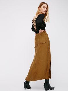 86273b5ad3503e City Streets Linen Maxi Skirt. RokkenStadsstraten