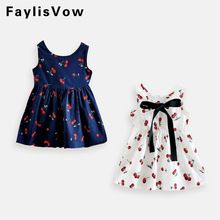 Mother & Kids Girls' Clothing 2019 Hot Sale 3 4 5 6 8 10 11 12 Years Girls Summer Baby Casual Style Cotton Kids Summer Girls Dress Tutu Dresses For Girls Hat Drip-Dry
