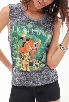 These Lion King Shirts are the Main Event. Buy this at Forever 21! Go here to buy: http://www.forever21.com/Product/Product.aspx?Br=F21&Category=top&ProductID=2000059088&VariantID=
