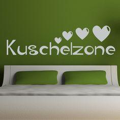 Dekorieren Sie Ihre Wände mit dem Motiv: Wandtattoo Kuschelzone von Wandtattoo.kiwi - Einzigartige Designs in bester Qualität zu top Preisen!