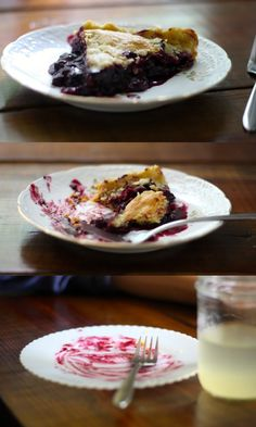 blueberry + chocolate = such good pie. #realfood #einkorn #pie #blueberry #chocolate