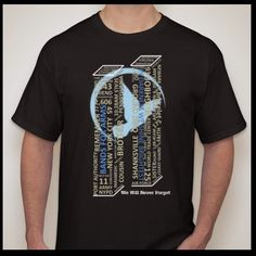 **************************The 9/11 Remembrance T Shirt, Pre-Order