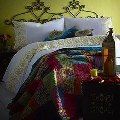 Lime 'Priya' bed linen - Duvet covers & pillow cases - Bedding - Home & furniture -