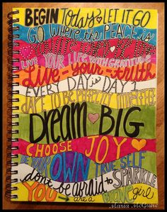 Believe Dream Create with Maria: Letter Love!....