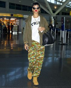 CELEBRITY MUSES: rihanna is living the thug life.