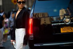 New York Fashion Week Street Style, Day 7 - New York Fashion Week Street Style | Sup3rb