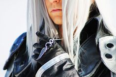 Final Fantasy, Sephiroth Necklace, Black Materia, Final Fantasy 7, Sephiroth Materia, Meteor Materia, One Winged Angel, Mako Necklace