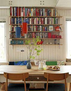 Cookbook Shelves