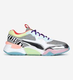 Sneakers femme et baskets femme | GIRLSONMYFEET Ellesse, Kenzo, Clarks, Reebok, Birkenstock, Balenciaga, Prada, Tommy Hilfiger, Puma Basket