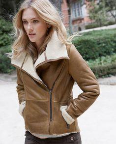 Jackson sheepskin jacket