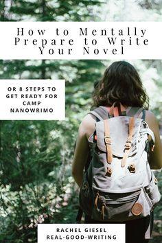 Steps to write a novel