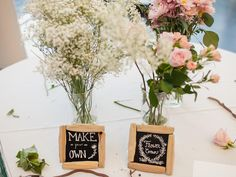 How to Create a Fun Flower Crown Station at a Bridal Shower | Photo by: Laura Zastrow Photography | TheKnot.com