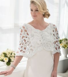 How to Make a Wedding Capelet | FREE Crochet Pattern | DIY Wedding