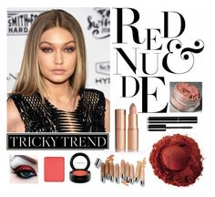 """""""How To Rock A Red Eye"""" by chantelleporter on Polyvore featuring beauty, Chanel, MAC Cosmetics and shu uemura"""