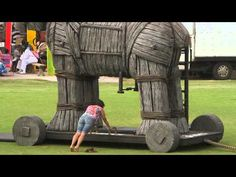 The Next Epic Challenge presented by #ASICS #interesting.. would've loved to ve done it...#woodenhorse