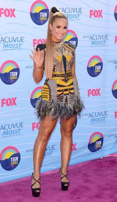 Style Is Up At The Teen Choice Awards