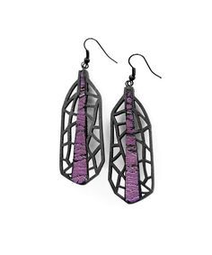 Earrings modern contemporary jewelry design FREE Shipping by DeUno