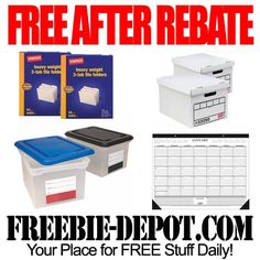 FREE Organizational Office Supplies exp 1/5/13