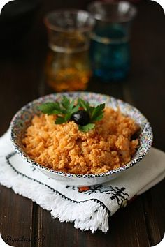 Zâalouk ou Caviar de Chou-Fleur