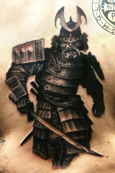 samurai-tattoo-warrior