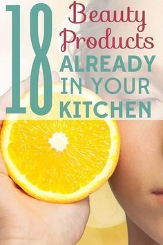 Natural Skin Care: 18 Beauty Products Already in Your Kitchen Natural home remedies is perfect treatment for skin care naturally{ without any harmful effects on your skin http://skinremarkable.com/