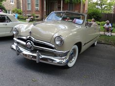 1950 Ford Custom Convertible...Re-pin brought to you by agents of #carinsurance at #houseofinsurance in Eugene, Oregon