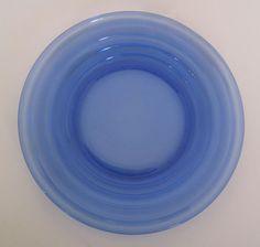 SALE Depression Glassware Cobalt Blue Moderntone Sherbet Plate Perfect