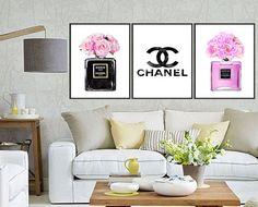 3 Set: Chanel set  Chanel Nr.5 & Chanel Noir perfume with