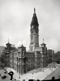 Philadelphia City Hall: 1910