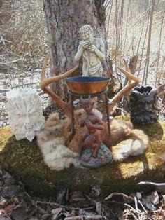 Altars:  Pagan Altar.