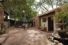Patio photo, 1117-1123 Canyon Road, Santa Fe, NM, 87501.